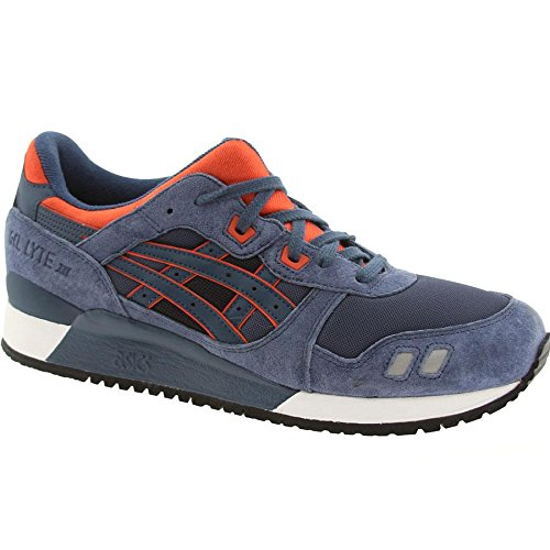 Asics Tiger Men Gel-Lyte III (navy / orange) Size 14 US q8GliNzB