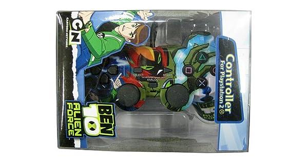 Amazon.com: Ben10 Licenced Alien Force Controller (PS2 ...