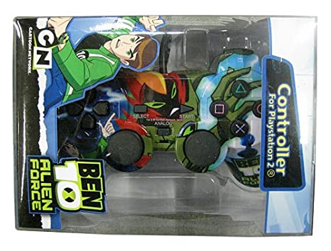 Ben10 Licenced Alien Force Controller (PS2) [Importación ...