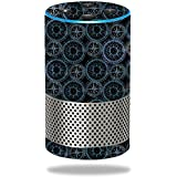 MightySkins Skin For Amazon Echo (2nd Gen) - Compass Tile | Protective, Durable, and Unique Vinyl Decal wrap cover | Easy To Apply, Remove, and Change Styles | Made in the USA