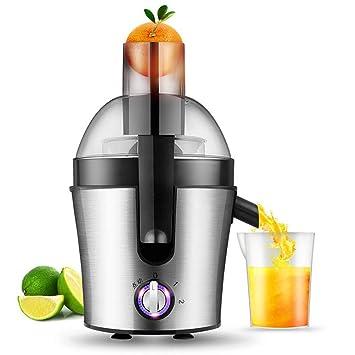 ... exprimidor, exprimidor centrífugo de 3 velocidades para Frutas y Verduras, sin BPA, exprimidor de Acero Inoxidable fácil de Limpiar: Amazon.es
