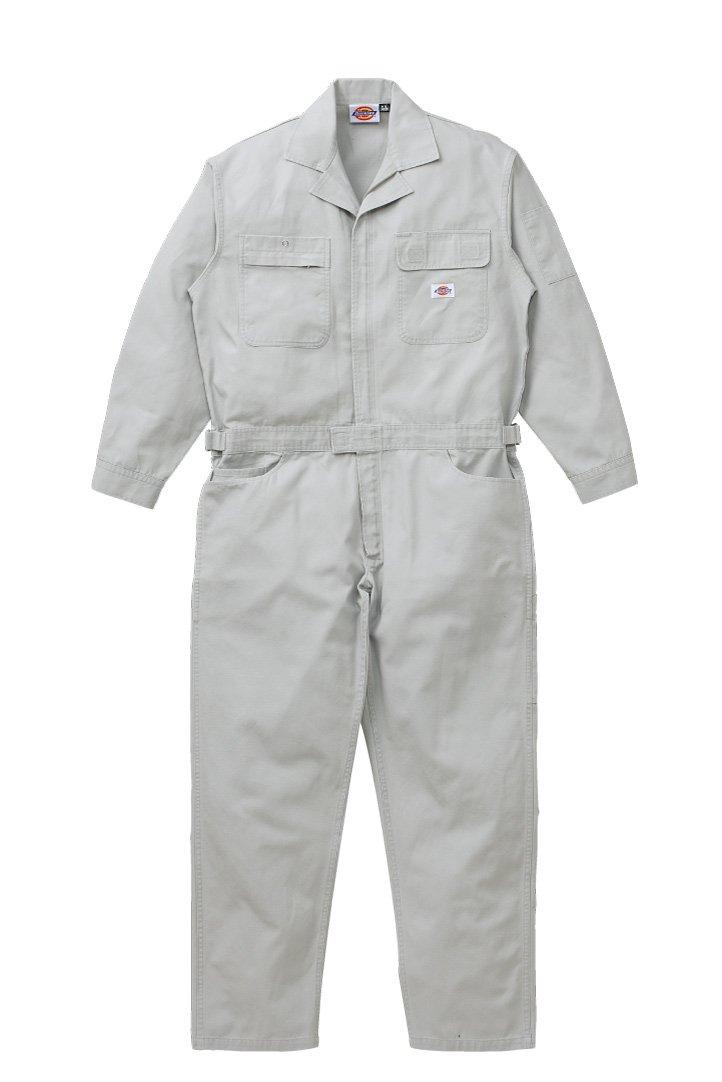 [ディッキーズ]Dickise【ツナギ服】年間物ツヅキ服綿100%《059-21-702》 B017Q3IYLU 5L|SG シルバーグレー