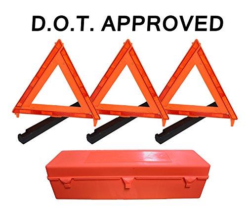 3-Pack Big Rig Emergency Roadside Warnin - Emergency Warning Triangle Shopping Results
