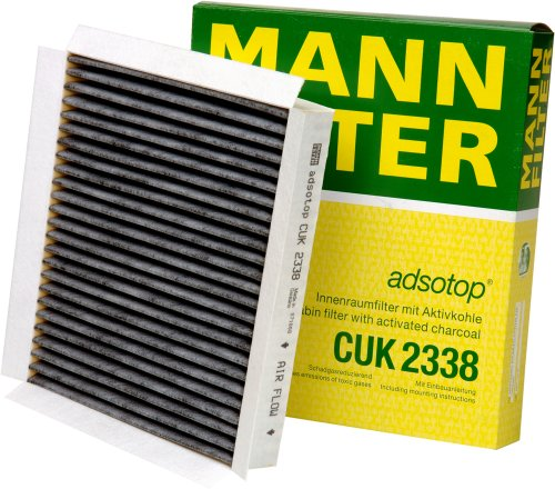Mann-Filter CUK 2338 Cabin Filter With Activated Charcoal for select  Mercedes-Benz models