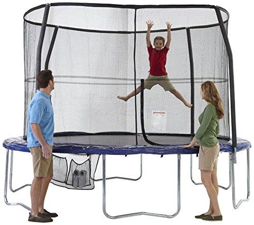 Bazoongi-6-Legs-Trampoline-and-Enclosure-12-Feet