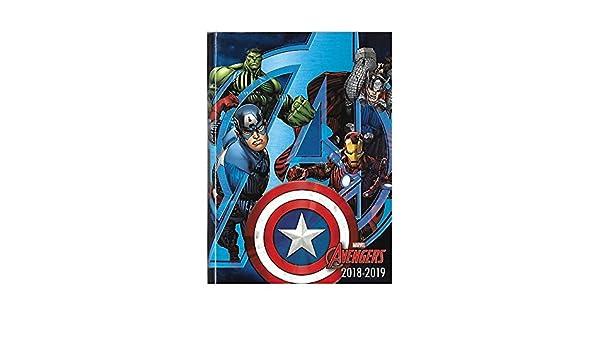 Marvel Avengers - Agenda Año Escolar 2018 - 2019 - intra ...