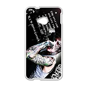 JIANADA Rockband Suicide?Silence Cell Phone Case for HTC One M7
