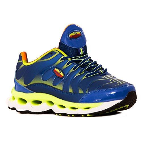 Palestra Sport da Sneakers Bianco Fitness Toocool Sportive Ginnastica 7127 Donna Nuove 41 7152 Blu 7152 Scarpe Verde Blu nwYqEOEg0