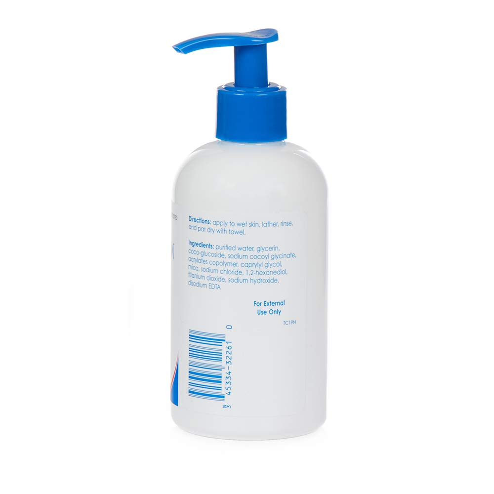 Vanicream Gentle Wash for Baby   Fragrance, Gluten and Sulfate Free   For Sensitive Baby Skin   Dermatologist Tested   8 Oz with Pump