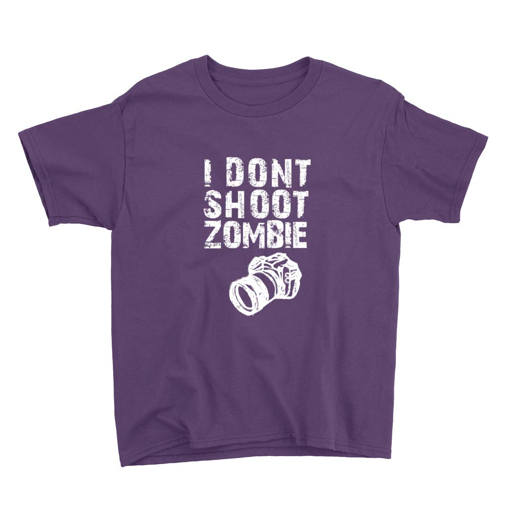 I Dont Shoot Zombie Youth T-Shirt