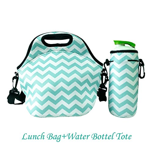 Amerzam Neoprene Lunch Bags/Lunch Boxes, Waterproof Outdoor