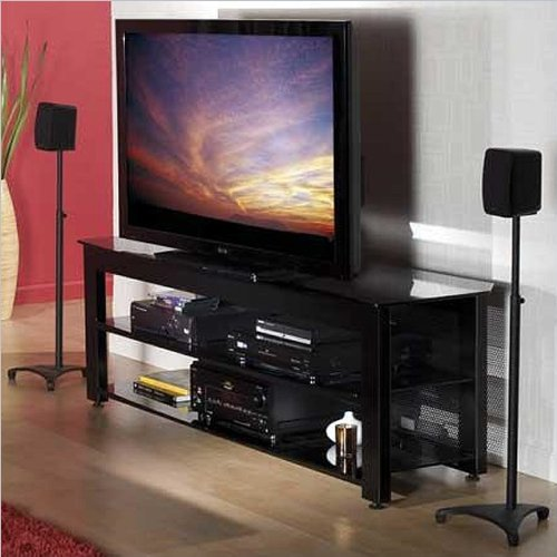 65'' Wide AV Stand Black by Sanus