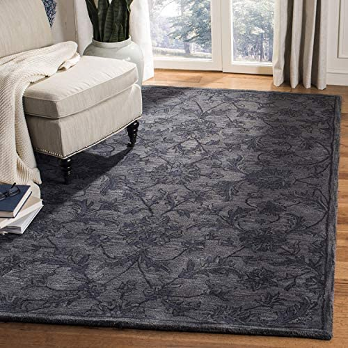 Safavieh Antiquities Collection AT824B Handmade Traditional Oriental Grey and Multi Wool Area Rug 5' x 8'