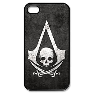 Classic Case Assassin's Creed pattern design For Apple iPhone 4,4S Phone Case