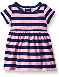 Baby Girls' Pink and Purple Striped Knit Dress