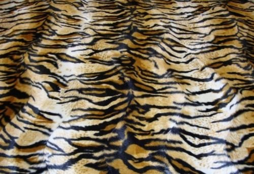Faux fur Velboa Assorted Animal Prints Fabric Per yard 58