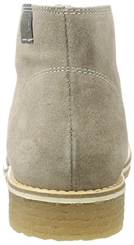 BLACK Damen 253 616 Desert Boots Grau (Stone Le)