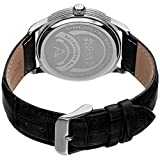 August-Steiner-Mens-Quartz-Stainless-Steel-and-Leather-Casual-Watch-ColorBlack-Model-AS8209SSBU