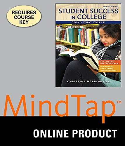 mindtap-college-success-for-harringtons-student-success-in-college-doing-what-works-2nd-edition