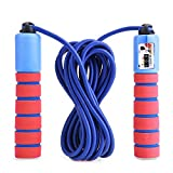 Balala Counter Jump Rope for Kids with and Easy Adjustable Cable and Foam Handle