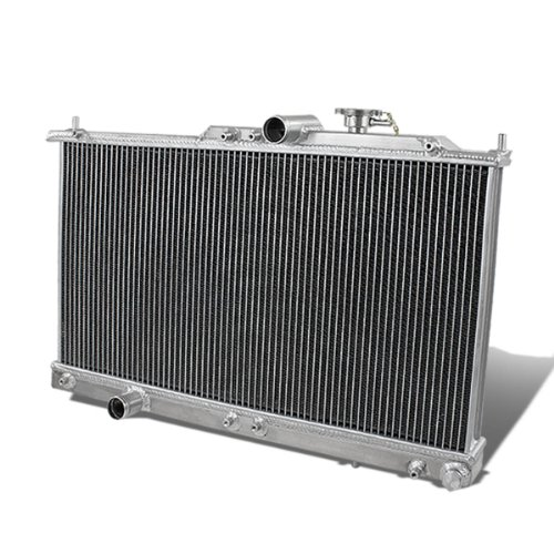 (For Mitsubishi Eclipse/Sebring/Stratus Full Aluminum 2-Row Racing Radiator - 3)