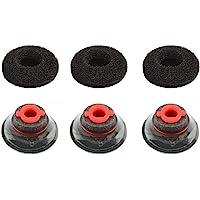3X Ultra Comfort Eartips Ear Buds Replacement Earphone Ear Tips Kits Earpads Foam Set Cushion for Plantronics Voyager…