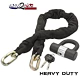 Heavy Disc Bike Chain Lock comparable to New York Kryptonite NY Fahgettaboudit