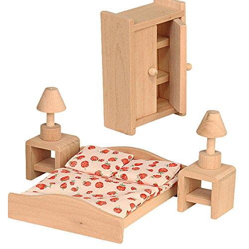 Beluga 70116 - Schlafzimmer, Puppenhausmöbel