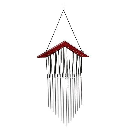 Slolvedi Wind Chimes for Home Balcony Positive Energy Good Sound 15 Tubes Windchime Yard Garden Outdoor Living Decor Gift C