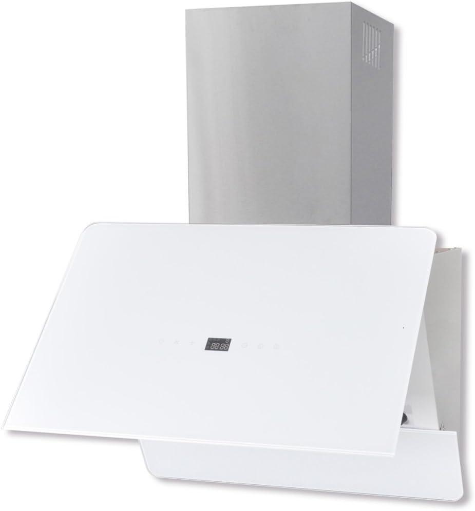 vidaXL Extractor Blanco de Cocina de Cristal con Pantalla, 600 mm: Amazon.es: Grandes electrodomésticos