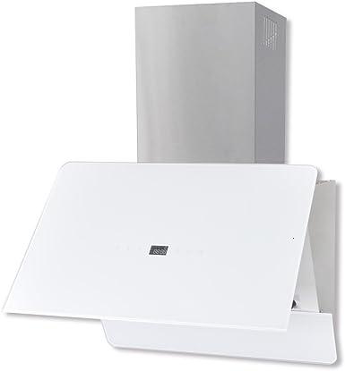 vidaXL Extractor Blanco de Cocina de Cristal don Pantalla 600 mm Vapor Campana: Amazon.es: Grandes electrodomésticos