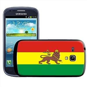 Fancy A Snuggle - Carcasa rígida para Samsung Galaxy S3 Mini i8190, diseño de bandera de Etiopía
