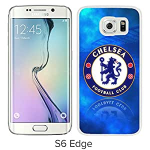 Popular Custom Designed Cover Case With Chelsea 10 White For Samsung Galaxy S6 Edge Phone Case