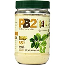 Bell Plantation PB2 Powdered Peanut Butter, 16 Ounce, 4 Count