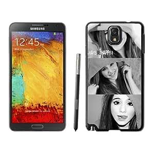Ariana Grande 02 Black Fashion Customize Design Samsung Galaxy Note 3 N900A N900V N900P N900T Phone Case