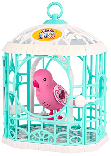 Little Live Pets Bird With Cage Ruby Belle Buy Online