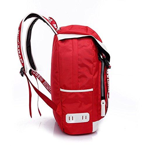 CLCOOL Bergsteigen-TascheWandern rucksack outdoor Klettern Camping reisen bergsteigen Unisex wasserdicht wasserdichte Taschen , rot