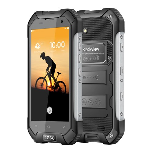 Blackview Unlocked Cell Phone, BV6000S Rugged Smartphone - 4G Android 7.0-4.7HD IP68 Waterproof Dual SIM Phone - 4500mAh Battery 2MP+8MP - 2GB RAM+16GB ROM With NFC/GPS/SOS/GLONASS/PTT