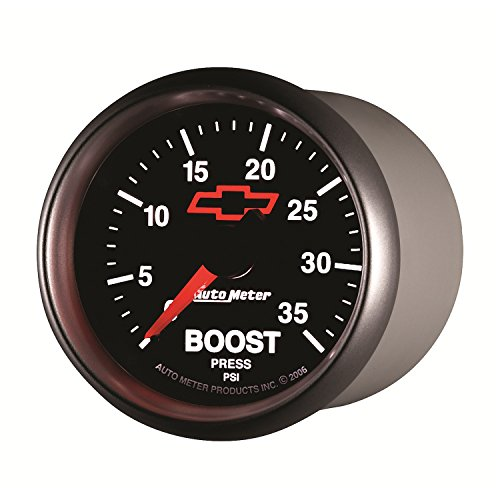 00406 Gauges (Auto Meter 3604-00406 GM Performance Parts Red 2-1/16