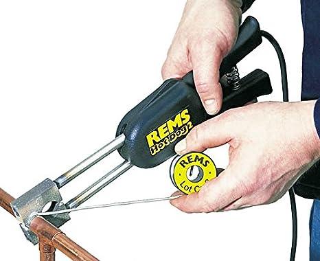 Rems eléctricos de soldadura pinzas de HOT DOG 2 estación de soldadura soldador de soldadura de la herramienta: Amazon.es: Bricolaje y herramientas