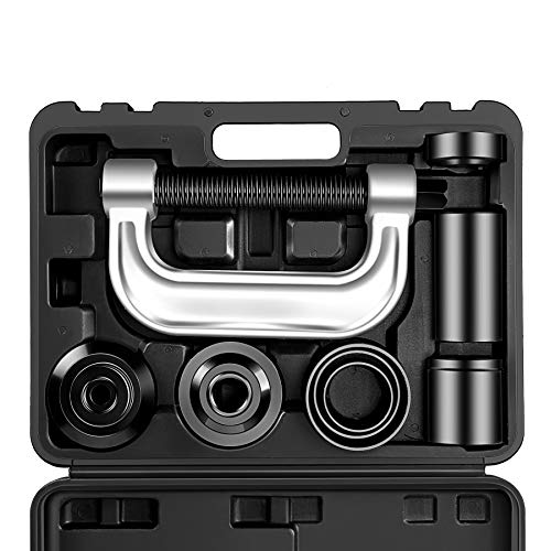(OrionMotorTech Heavy Duty Ball Joint Press & U Joint Removal Tool Kit with 4wd Adapters, for Most 2WD and 4WD Cars and Light Trucks (BK))