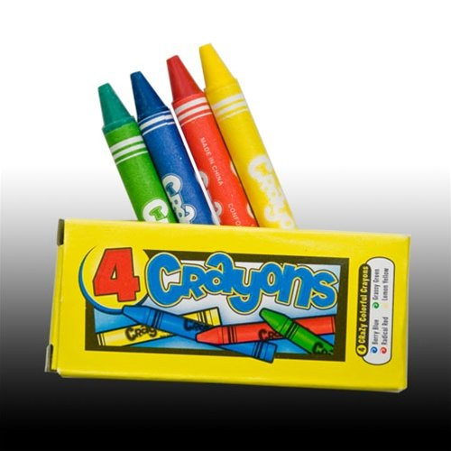 Four Crayons Per Box Boxes