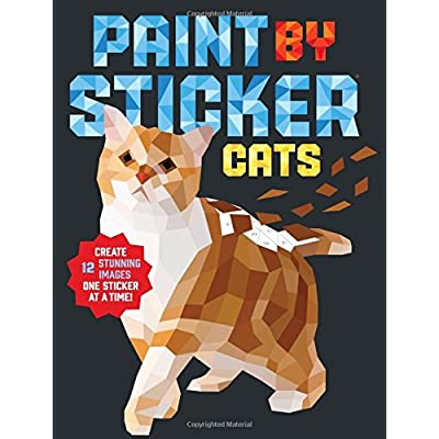 Cat Fan related Products Paint by Sticker: Cats [tag]