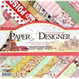 CraftDev Pattern Design Printed Papers for Art n Craft, Size: 8x 8 Inch, Set of 40