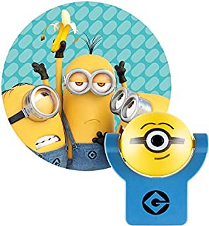 Projectables Minions Plug-in Night, Despicable Me, for Kids, Collectors Edition,