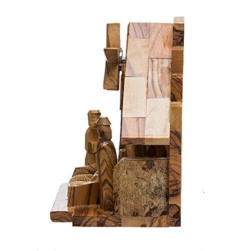 Kurt Adler LOC0003 7.9'' Olive Wood Nativity Music Box by Kurt Adler (Image #4)