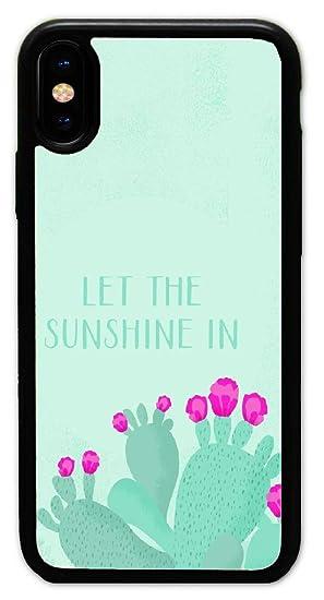 Amazon Com Iphone X Case Custom Cacti Wallpaper Hard Plastic