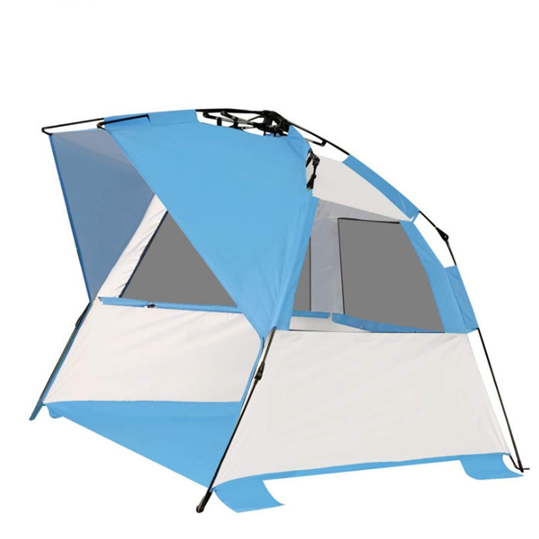 Nalkusxi 2-3 Personen Strandzelt für Camping im Freien