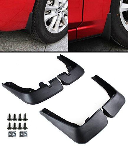 Cuztom Tuning For 2014-2017 Mazda3 Hatchback Axela 4pcs Front & Rear Splash Mud Flaps Guards