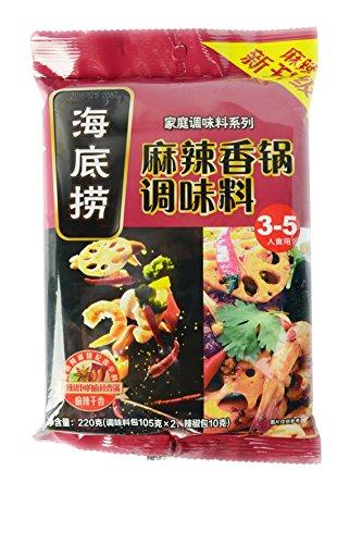 Hai Di Lao Hot Pot Seasoning -Spicy Hot Pot Base(  Basic Fry Sauce ) (2 Individual Servings) (Hot Pot Sauces)